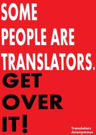 I'm a translator