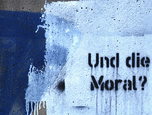 Und die Moral?